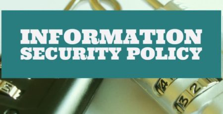 SECURITY POLICY erdal