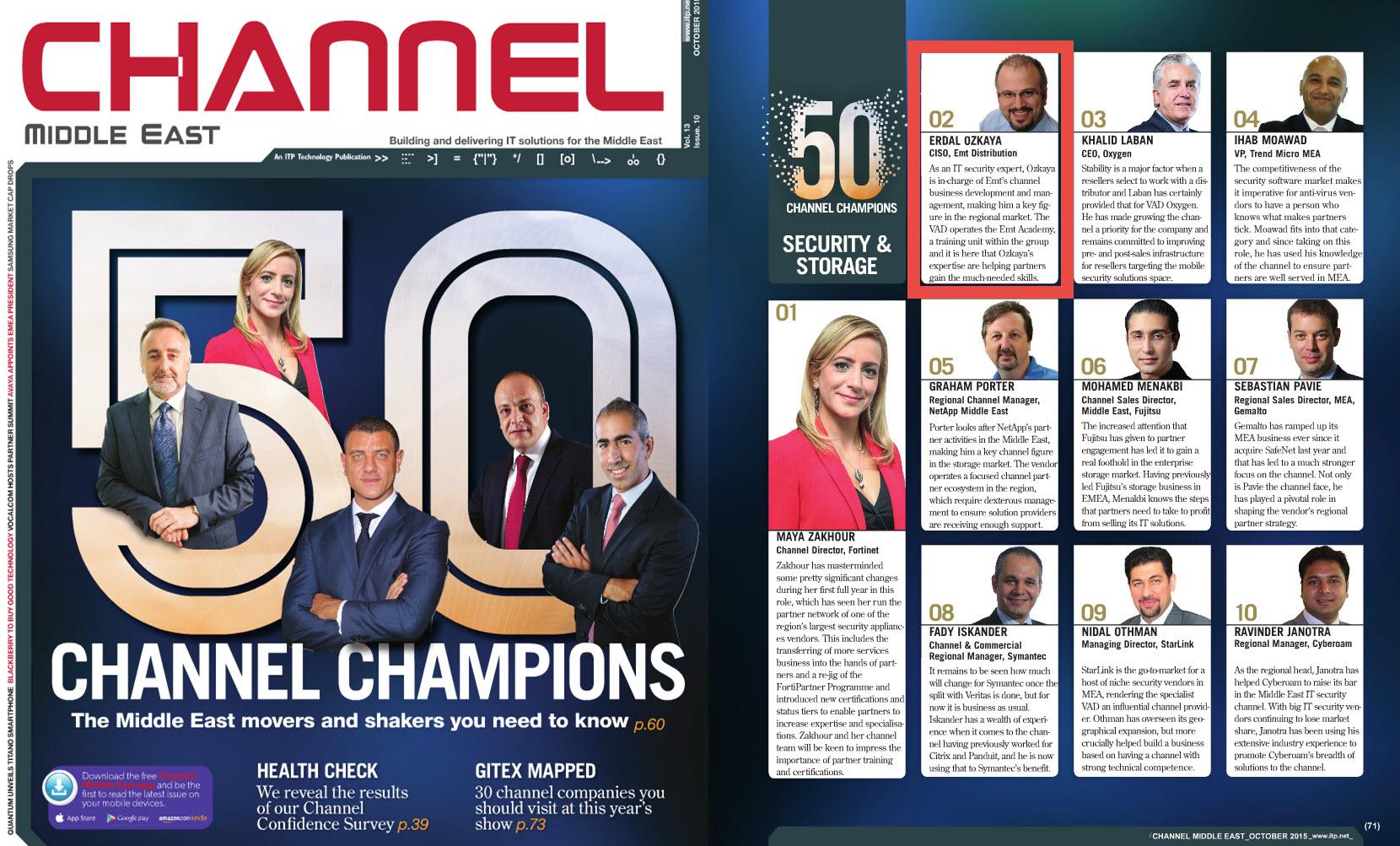 Channel Champions 2015