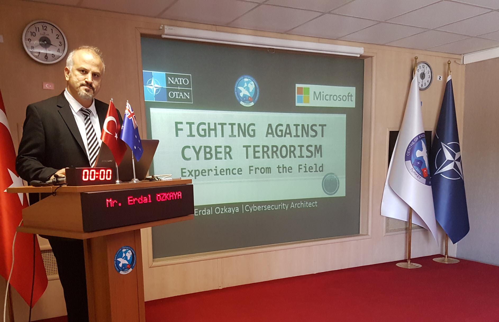 Fighting against Cybercrime Erdal Ozkaya NATO