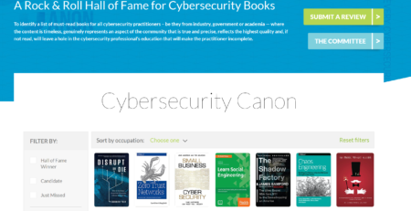 Cybersecurity Canon Candidate Book Review