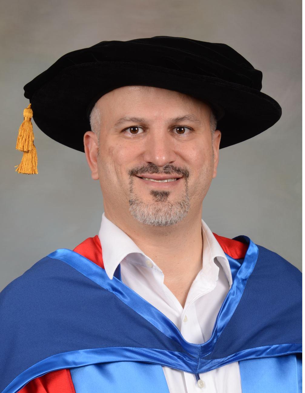 Dr Erdal Ozkaya Doctorate Graduation speech