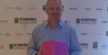 Network World Awards Erdal Ozkaya