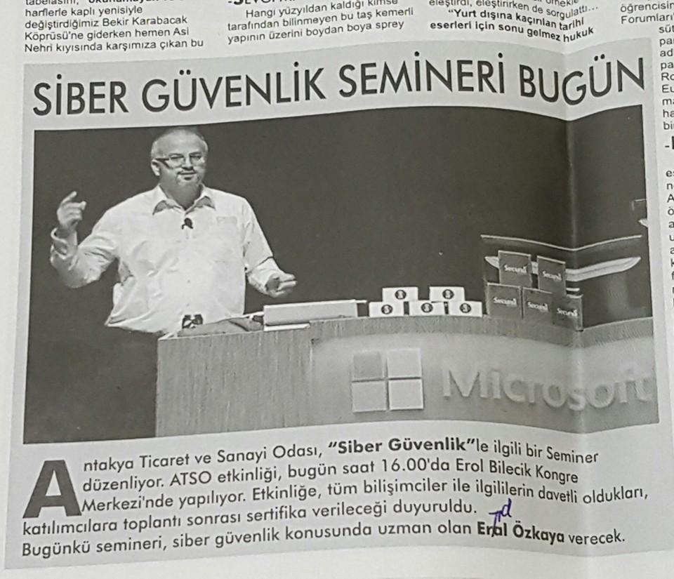 Cybersecurity Expert in Antakya