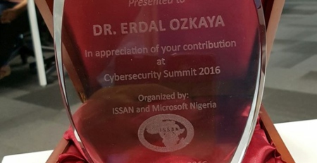 Information Security Society of Africa Nigeria Award