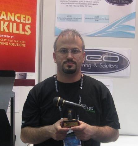 Microsoft Speaker of the year Erdal Ozkaya