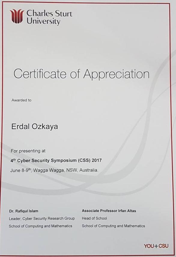 CSU Erdal Ozkaya