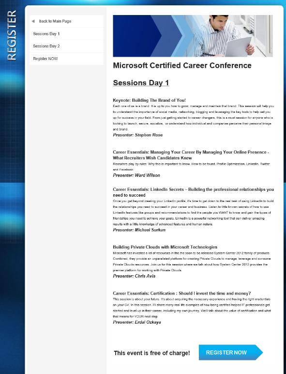 Microsoft Certified Career Conference Dr Erdal Ozkaya