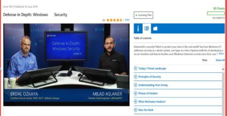 Defense in Depth Windows Security Erdal