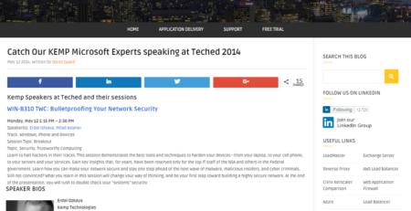 KEMP Microsoft Experts Erdal Ozkaya