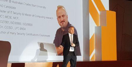 Best Speaker at Microsoft Digital Evolution Forum