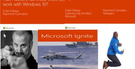 Erdal Microsoft Ignite