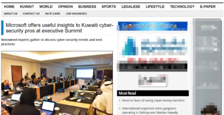 Microsoft offers useful insights to Kuwaiti cyber-security pros