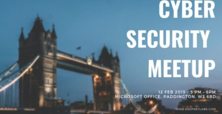 Cybersecurity community meet up London