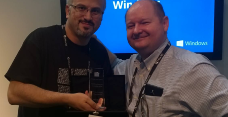 Microsoft Community Award Erdal ozkaya
