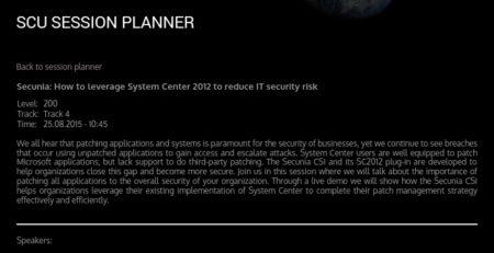 System Center Universe Erdal