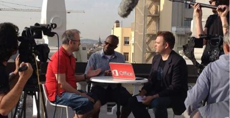 Rooftop Interview in Madrid, Erdal Ozkaya
