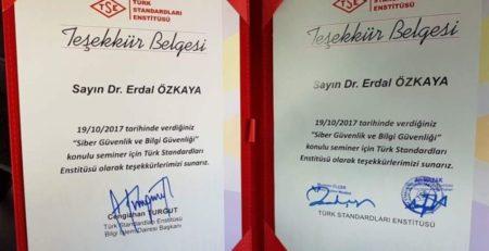 Turkish Standard Organization Erdal Ozkaya