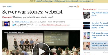 Server war stories Erdal
