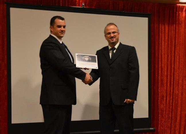 EC-CouncilCircle of Excellence2012 awarded to Erdal Ozkaya