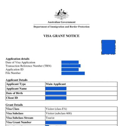 Leaked Australian Passports in Google