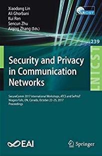 Security and Privacy in Communications Networks Dr Erdal Ozkaya