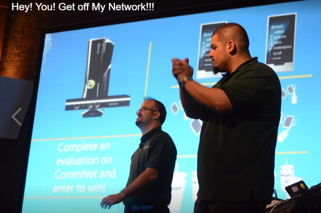 Hey! You! Get off my Network! Microsoft Erdal