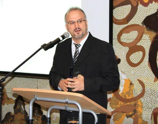 Professional of the year Sydney Award winner Erdal Ozkaya