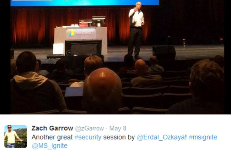Microsoft Ignite Feedback Dr Erdal Ozkaya