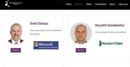 Digital Banking and Security Conference Erdal Ozkaya Azerbaijan