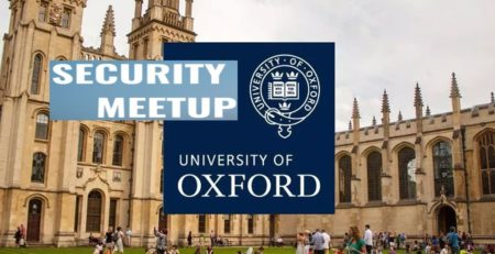 Oxford University Security Meetup Dr Erdal Ozkaya