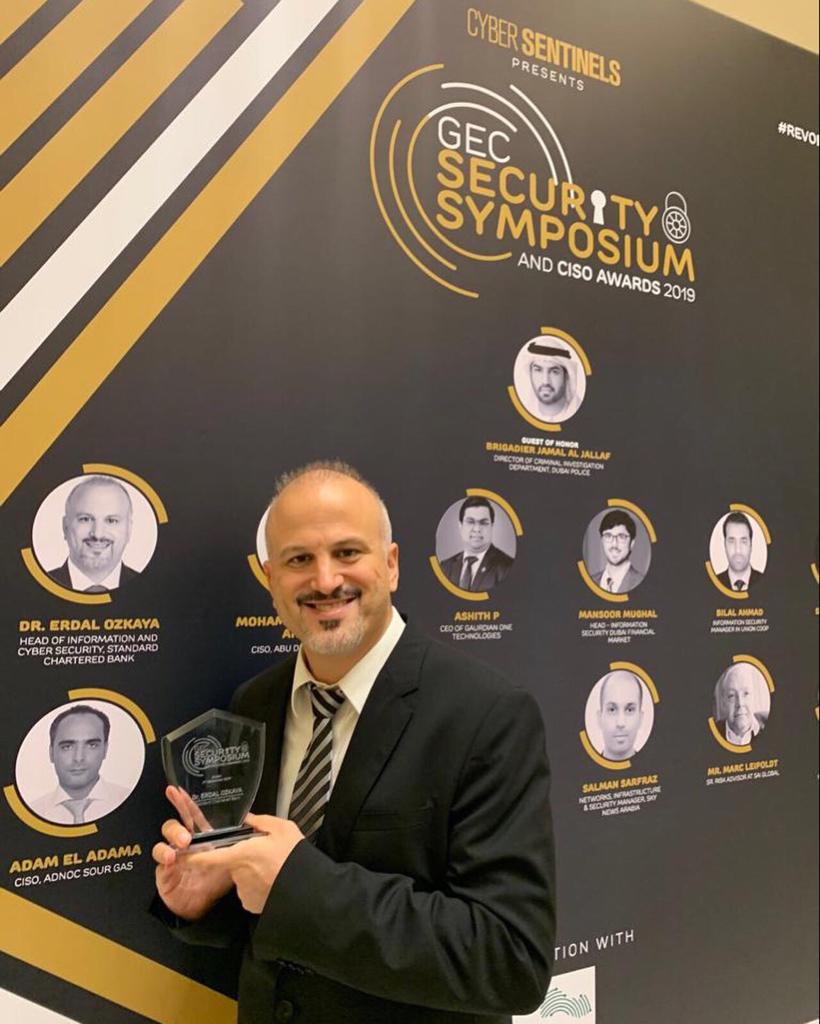 GEC Security Symposium and CISO Awards Erdal