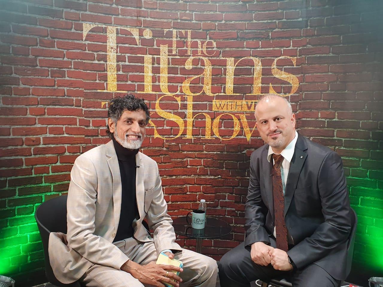 Titans Talk Show Erdal Ozkaya
