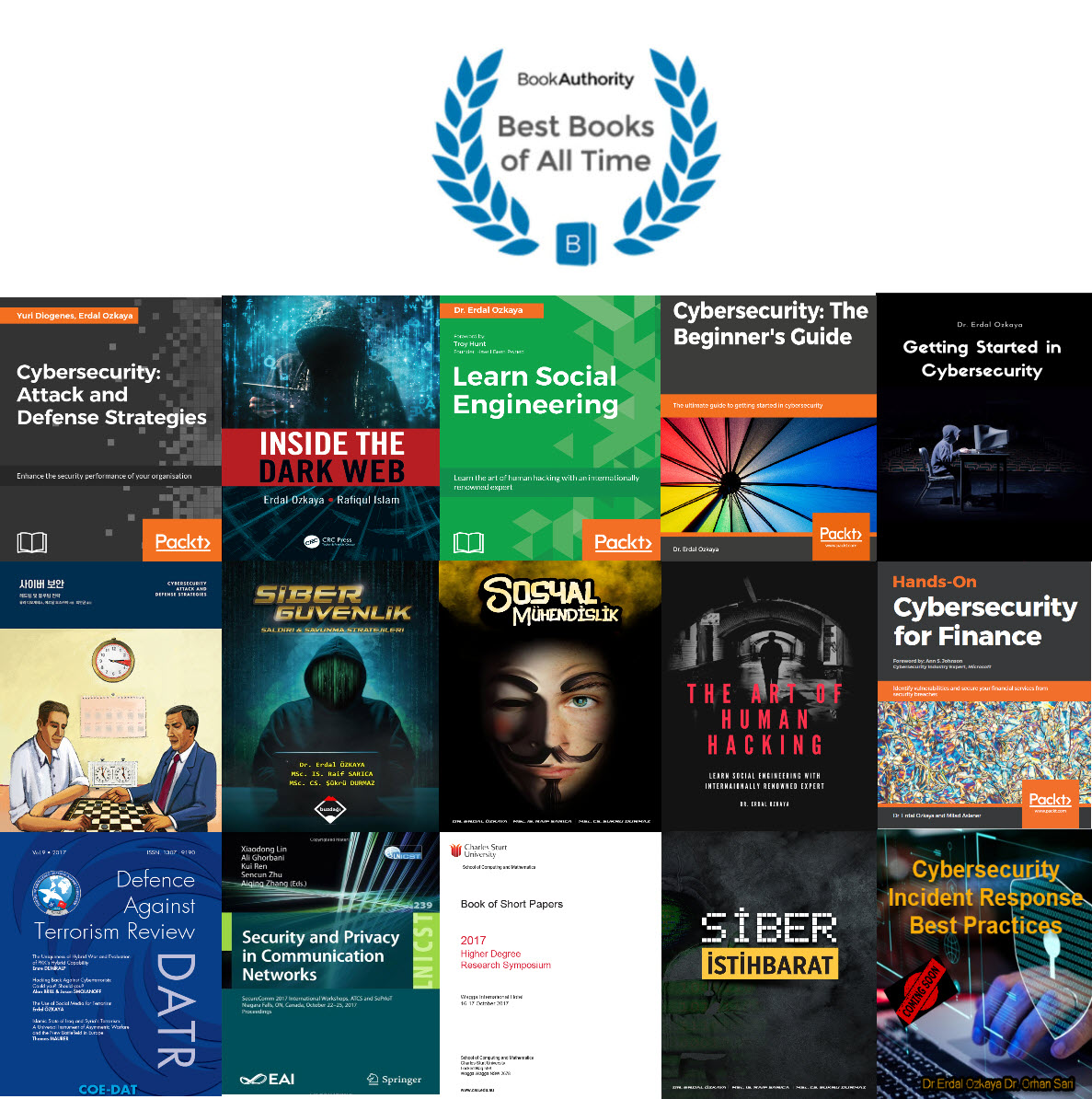 must have cybersecurity books Erdal