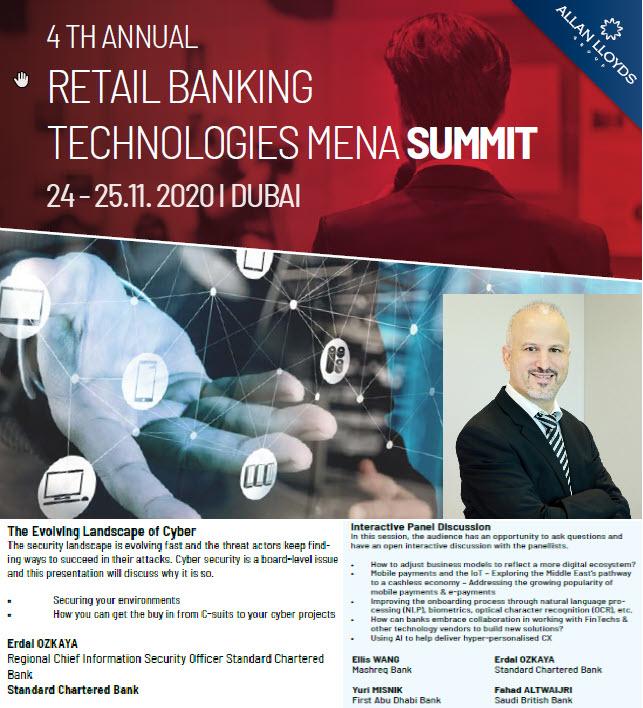 ANNUAL RETAIL BANKING TECHNOLOGIES Erdal Ozkaya