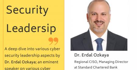 Elite CISO Cyber Security Leadership Dr. Erdal