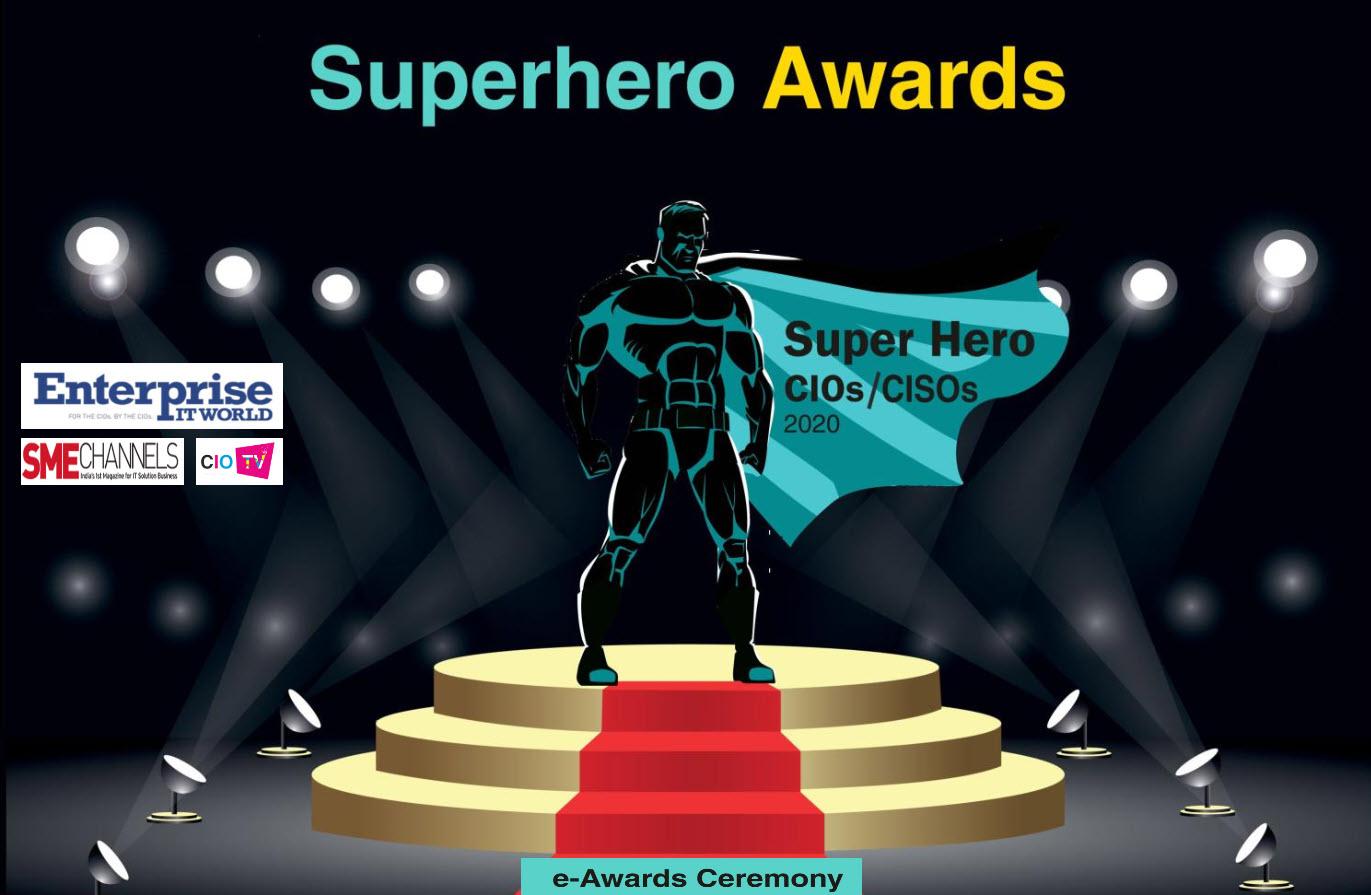 Superhero CISO Award by Enterprise IT World Erdal Ozkaya