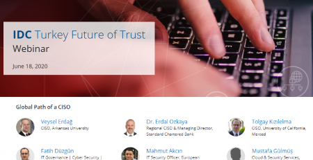IDC Turkey Future of Trust Path of CISO Dr Erdal