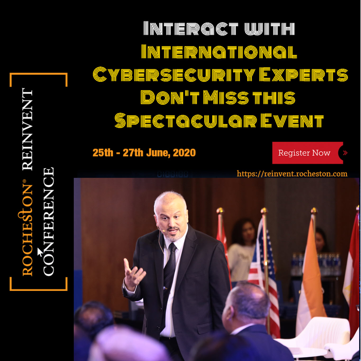 Rocheston Reinvent Cybersecurity Conference Dr ozkaya