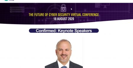 Future of Cybersecurity 's Virtual Conference Dr Erdal Ozkaya