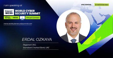 WORLD CYBERSECURITY SUMMIT Dr Erdal Ozkaya