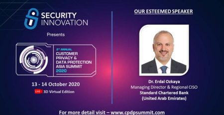 ANNUAL CUSTOMER PRIVACY AND DATA PROTECTION ASIA SUMMIT Erdal Ozkaya