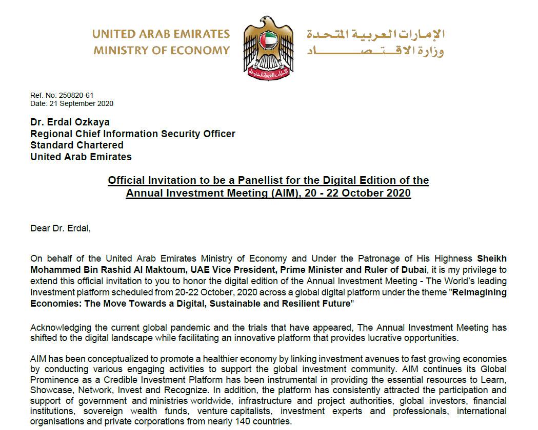 HH Sheikh Mohammed UAE Dr Erdal Ozkaya