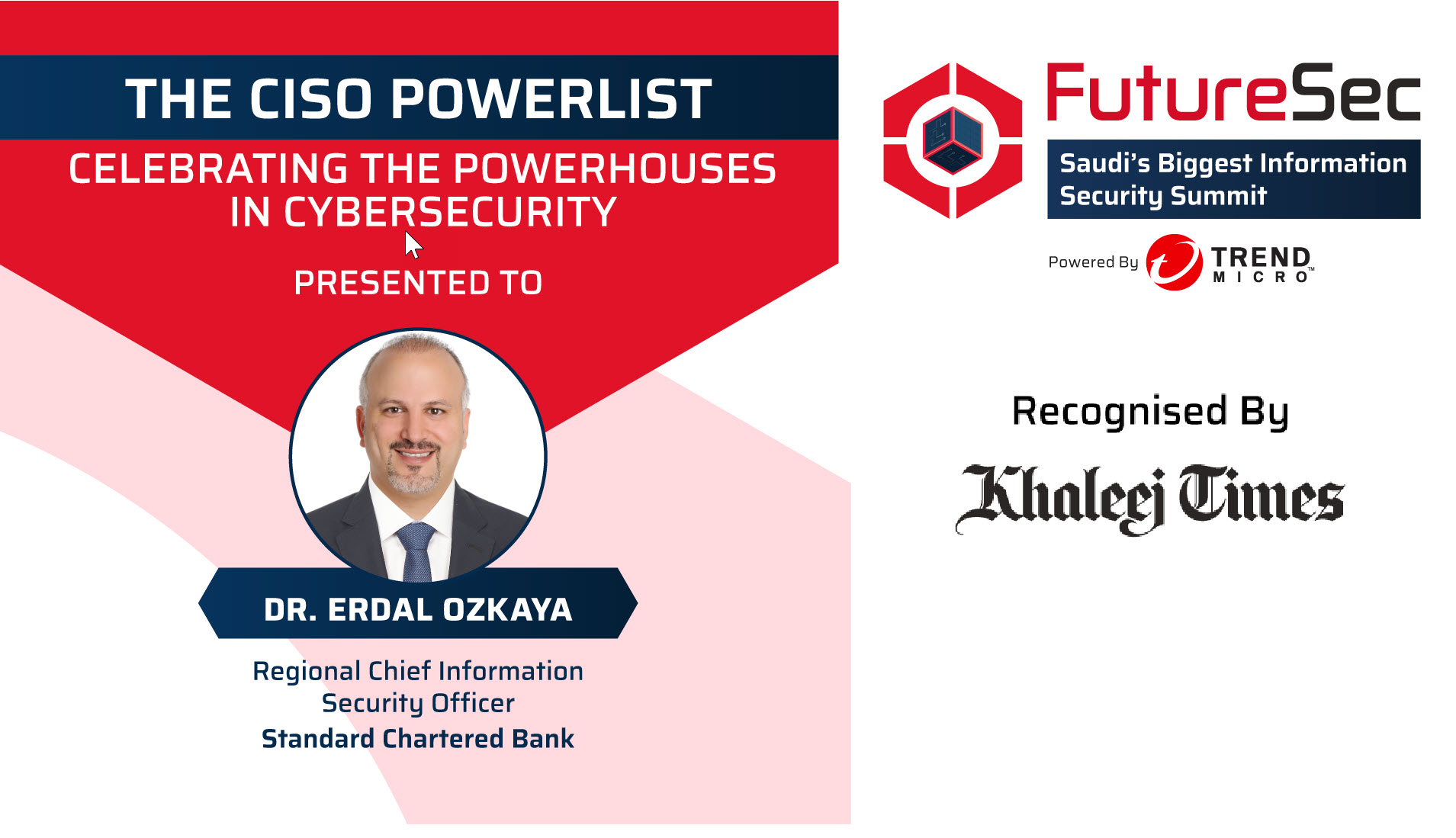 CISO PowerList -Khaleej Times