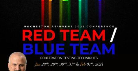 Rocheston Reinvent Penetration Testing Conference Erdal Ozkaya