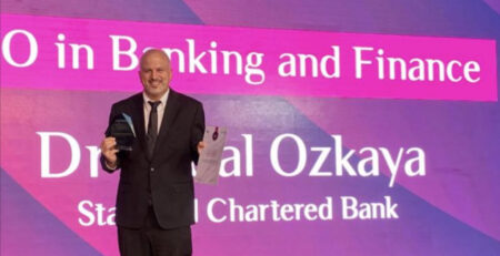 Best CISO in Banking and Finance Dr Ozkaya