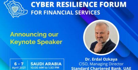 Cyber Resilience Forum Keynote speaker Erdal ozkaya