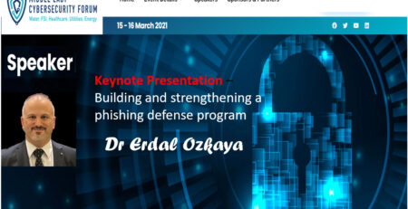 Middle East Cybersecurity Forum Erdal Ozkaya