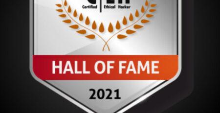 ECC CEH Hall of Fame 2021 Dr Erdal Ozkaya