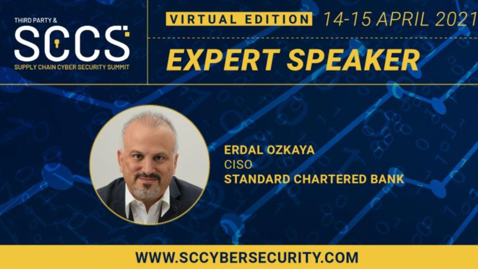 Expert Speaker Dr Erdal Ozkaya