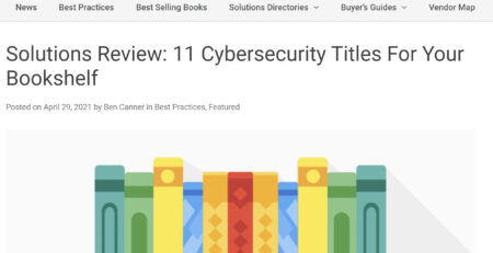 Cybersecurity Titles For Your Bookshelf